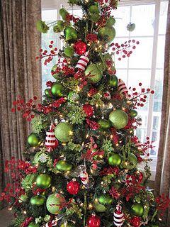 Dr Seuss Inspired Xmas Tree