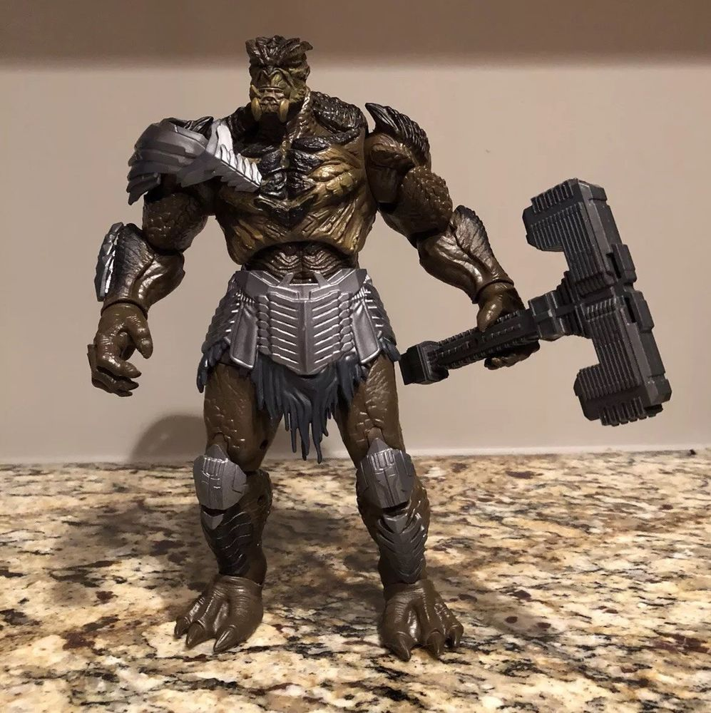 Marvel Legends Avengers CULL OBSIDIAN COMPLETE BAF Build A Figure Mint