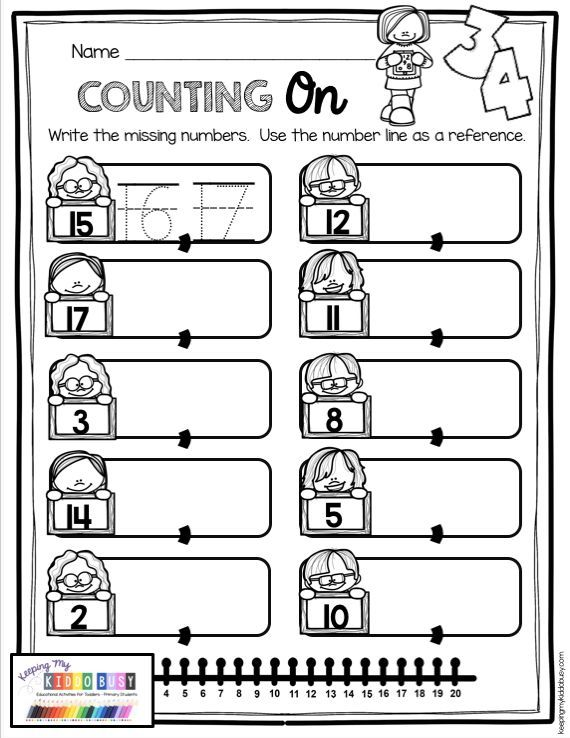 Counting and Cardinality FREEBIES — Keeping My Kiddo Busy