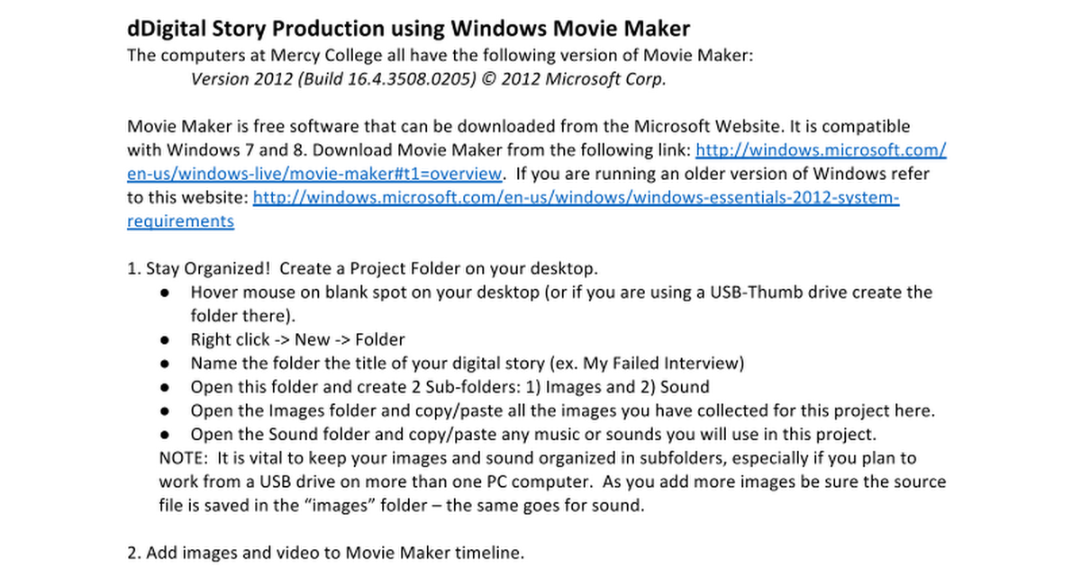download old version of windows movie maker for free