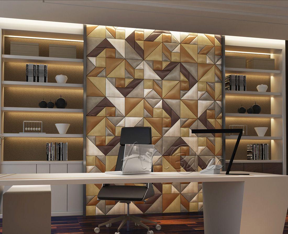 Home Office Wall Decor Templates | Panel & Lighting | Pinterest ...