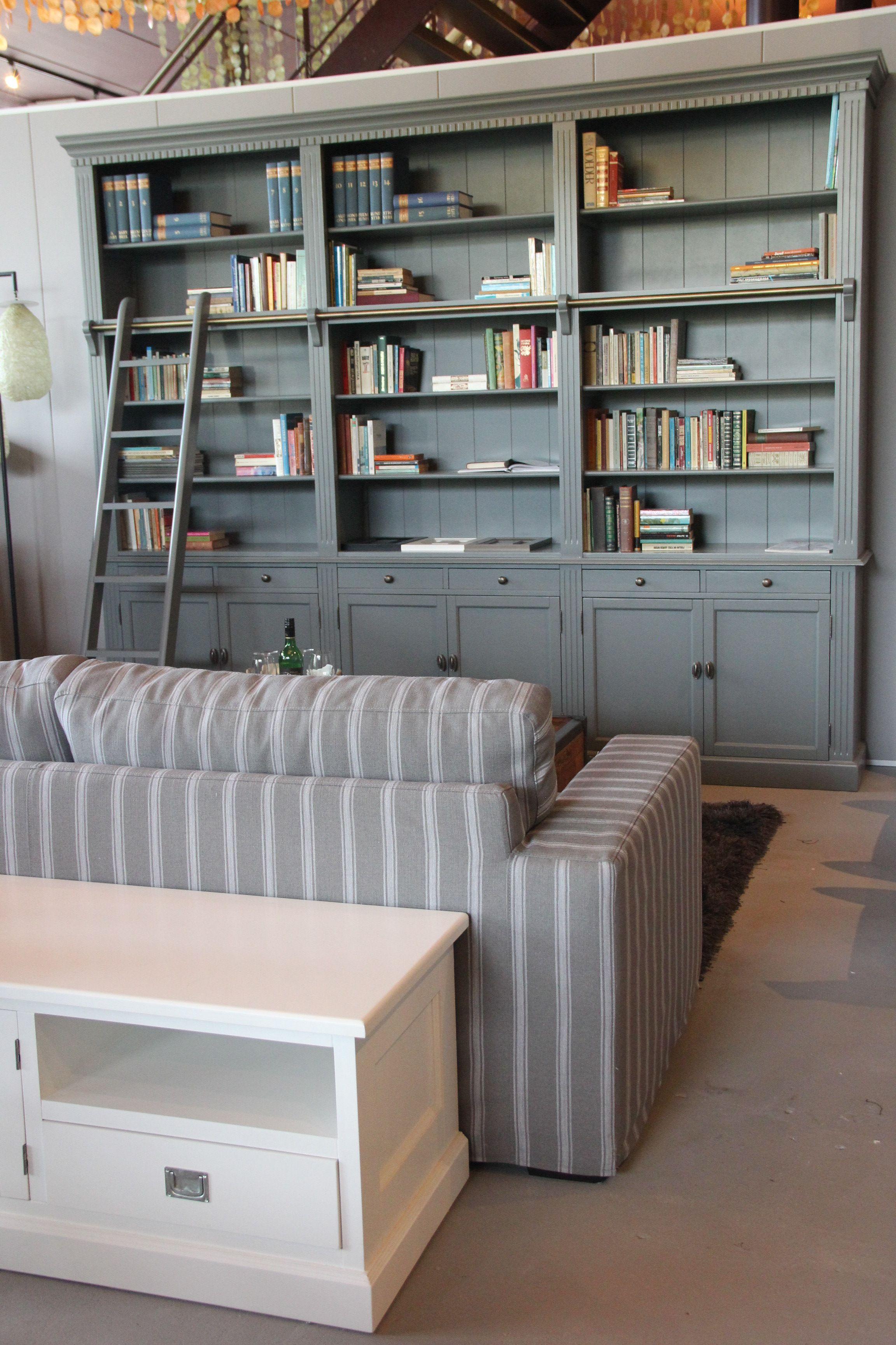 meubels en meerprivate library boekenkast met ladder meubels en meer
