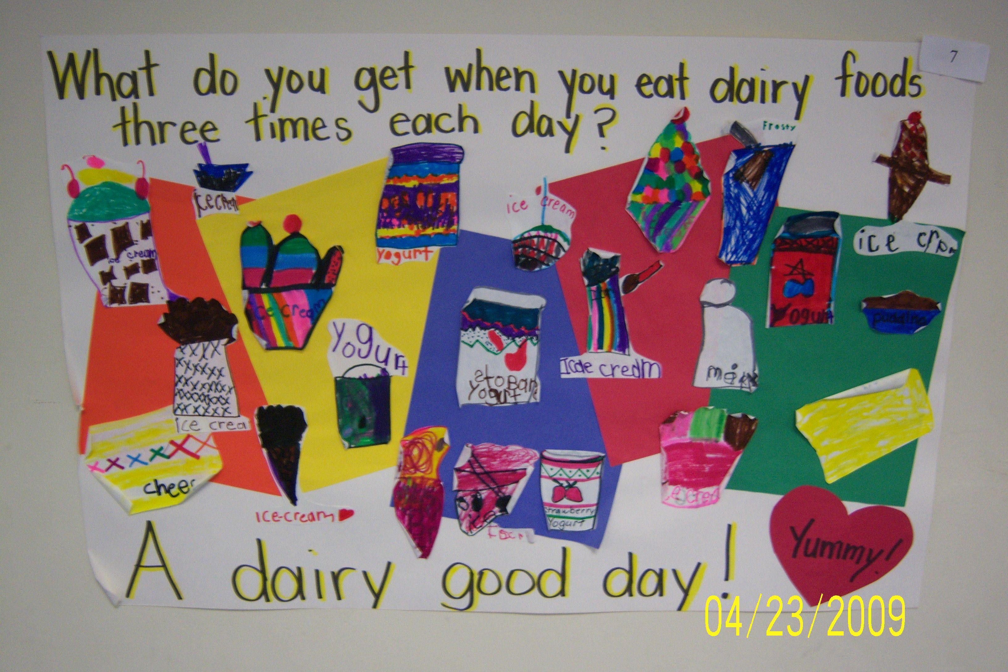 4- Dairy Poster Samples Buckeye Elementary Dairy1
