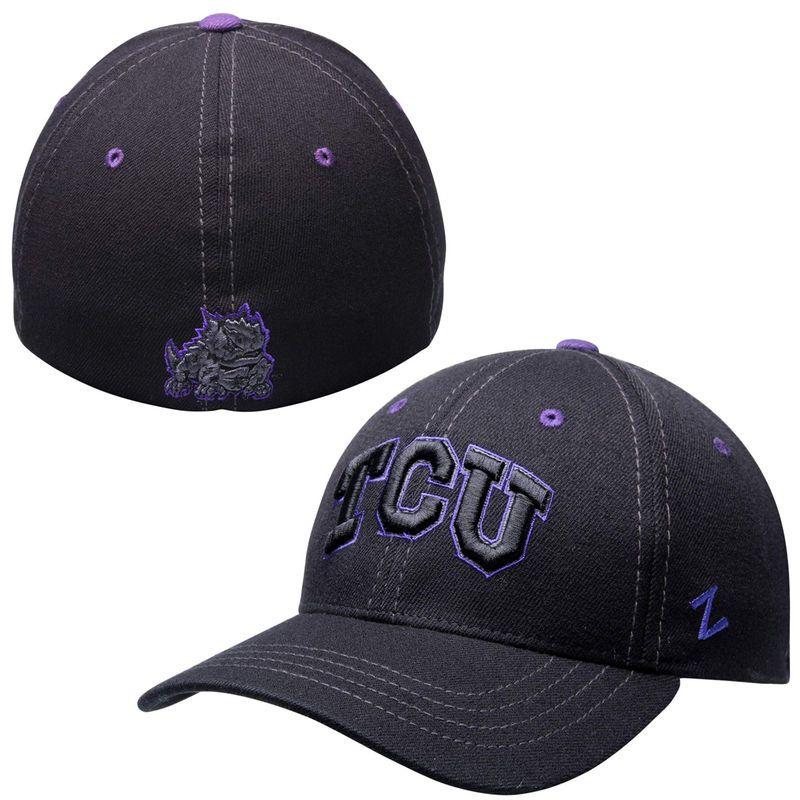 TCU Horned Frogs Zephyr Basic Element Flex Hat – Black