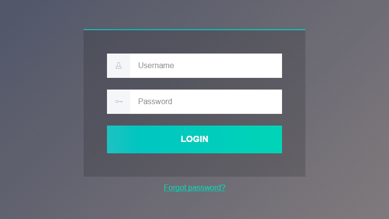 Login Form Web design, Login form, App design