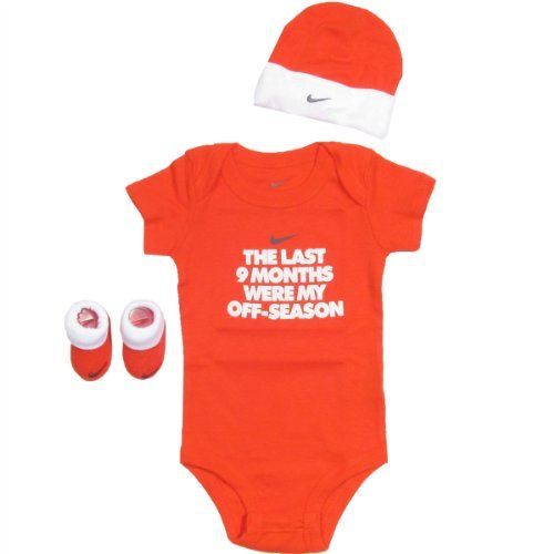 Nike Baby Clothes 9 Months 3 Piece Set 0 6m Orange 0 6 Months Nike Http Www Amazon Com Dp B00j4vz88a Ref C Nike Baby Clothes Baby Clothes Baby Boy Outfits