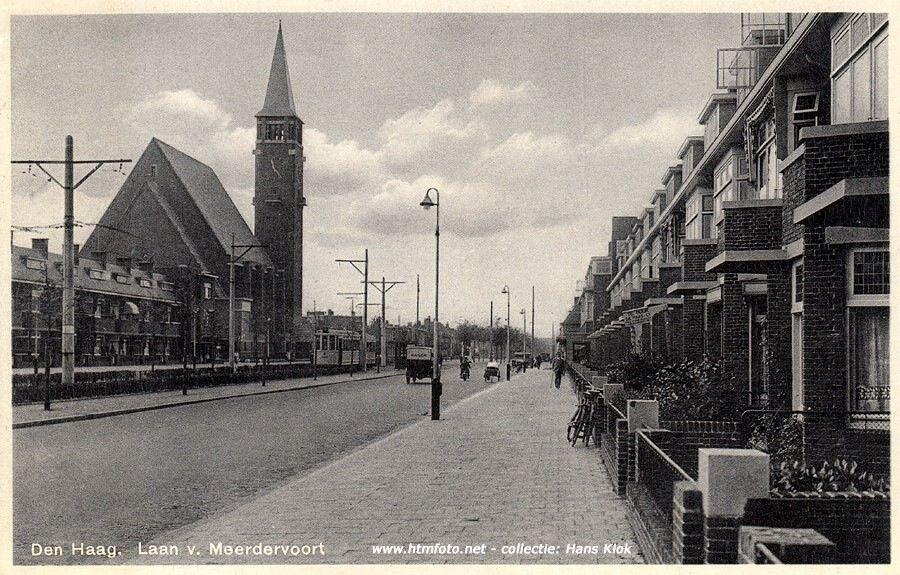 laan van meerdervoort met bethlehemkerk | scheveningen / holland