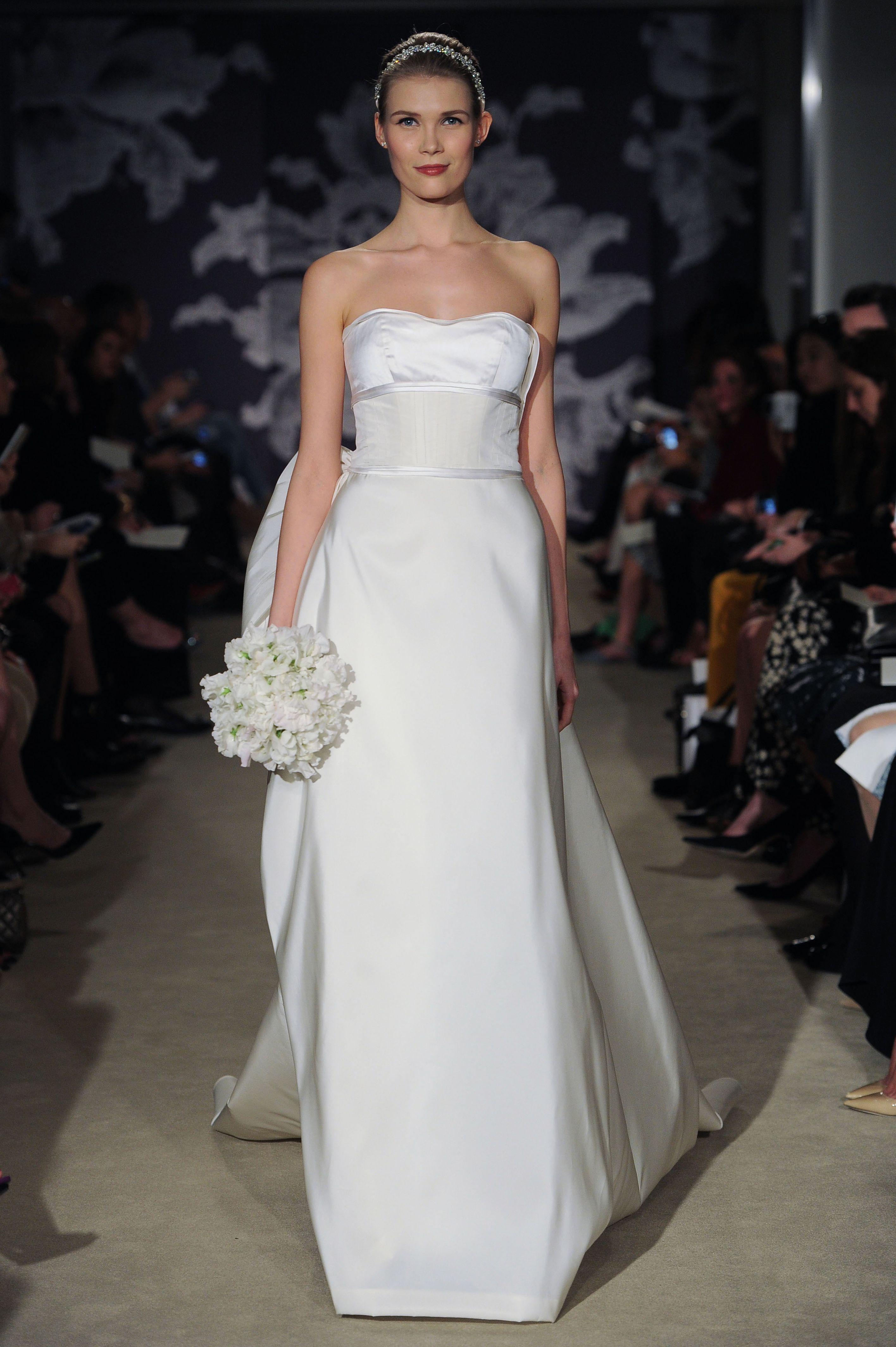 The Carly gown #CarolinaHerrera #bridal