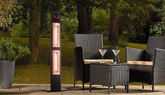 Garden Glow Electric Garden Heater Patio Heater Red Patio Outside Heaters