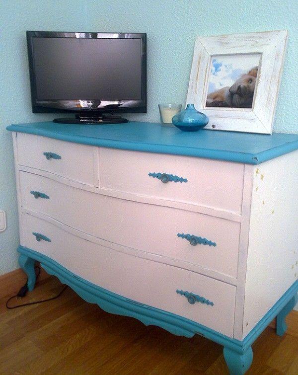 Como reciclar muebles viejos y darle un aspecto actual reciclaje pinterest muebles - Reciclar muebles viejos ...
