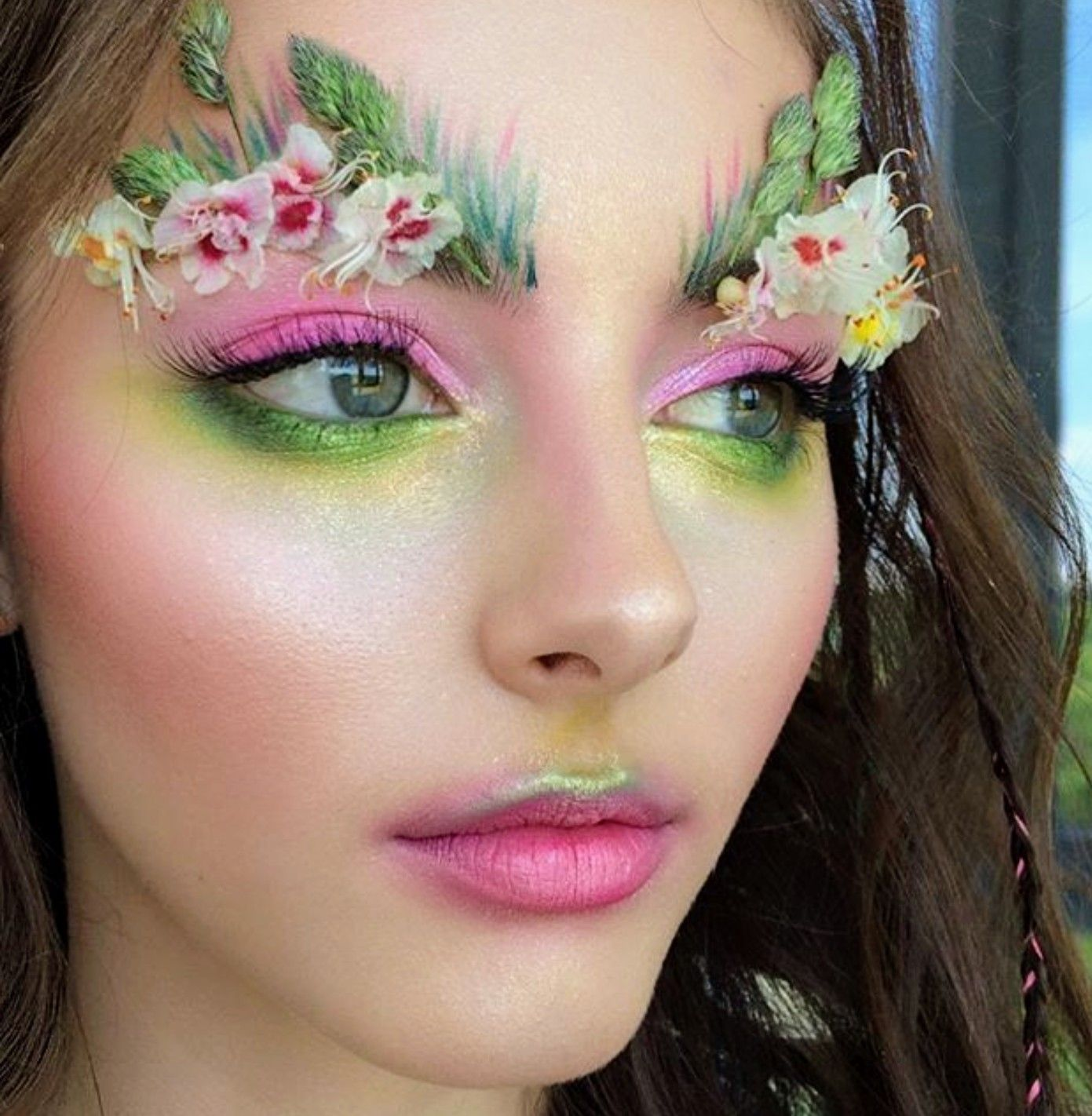 This Is Kind Of Amazing Faerie Makeup Fantasy Makeup Fairy Makeup