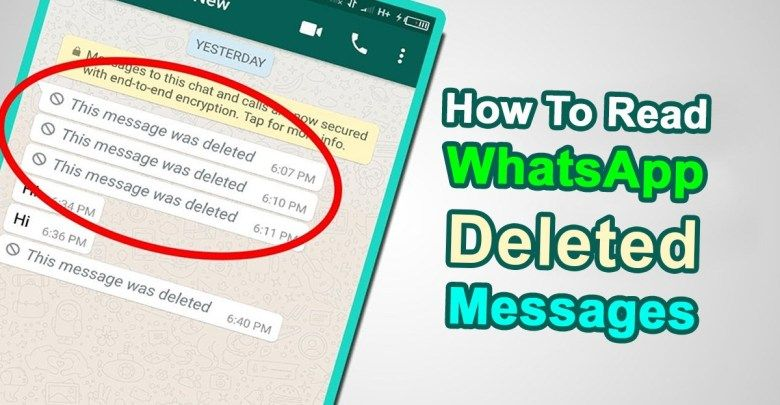 How to Read WhatsApp Deleted Messages on your iPhone or