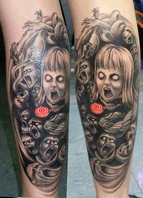 Zombie Tatuajes Revista Entintado Tatuajes Tatuajes Tinta Y