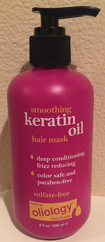 Oliology Smoothing Keratin Oil Hair Mask, 8 Oz. * Want to