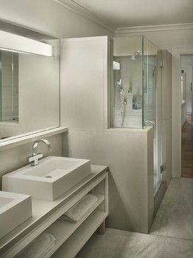 Concreteworks Sinks & Surround - modern - bathroom sinks - new york - Concreteworks