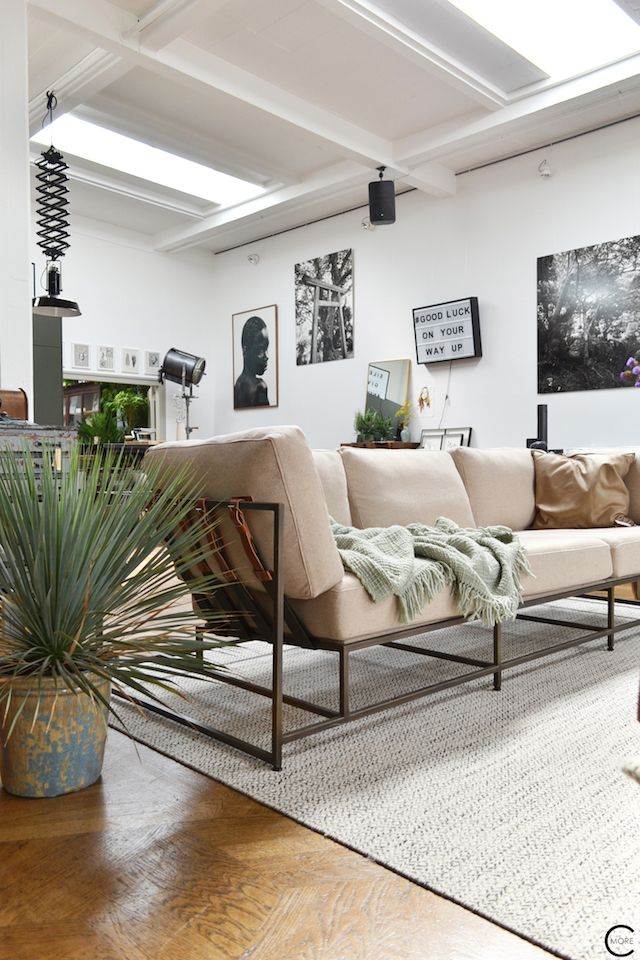 The Loft Amsterdam The Playing Circle August 2015 living sofa plant ...