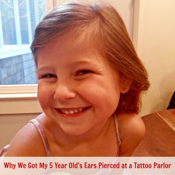 Why we got our daughter's ears pierced at a tattoo parlor and not the mall.  Read this before you make your decision.