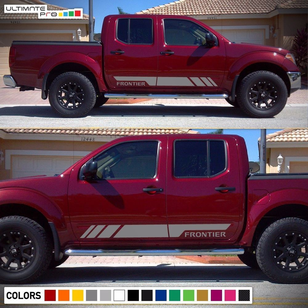 Decal sticker vinyl stripe kit for nissan frontier navara grill flare light lamp ultimateprocy1ulti10deca15