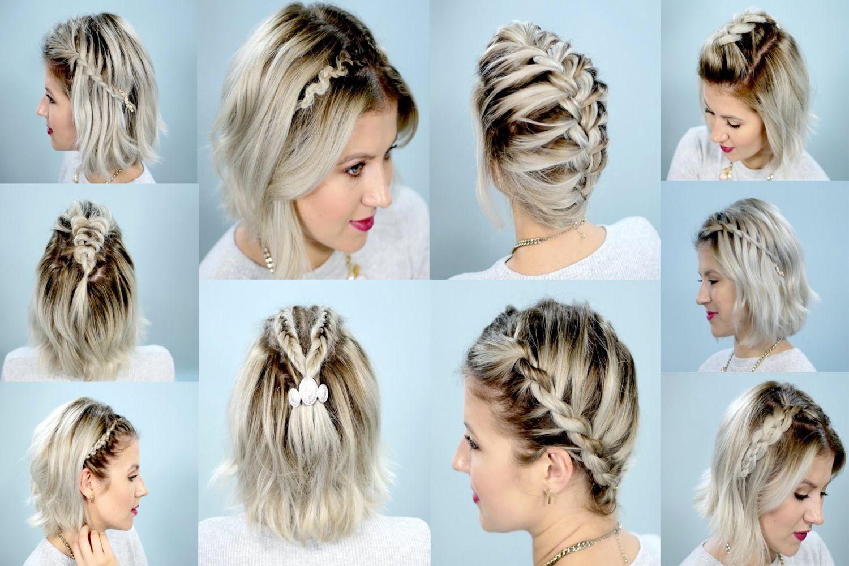 5 Idees De Tresses Cheveux Courts Pour Changer De Tete Cheveux Courts Tresses Pour Cheveux Courts Belle Coiffure