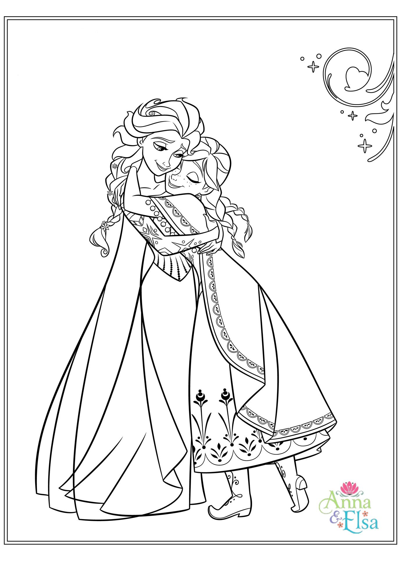 Discover Ideas About Frozen Coloring Pages