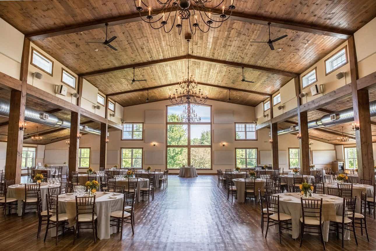 The Barn Hornbaker Gardens Weddings South Chicago Wedding ...