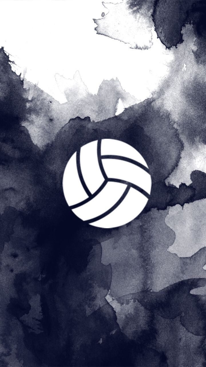 Pin by . . on Volleyball wallpaper, Volleyball drawing