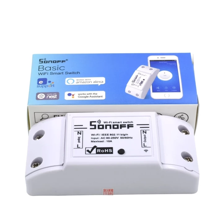 Wifi Smart Switch That Allows Users To Remote Control The Power Of Lights Electrical Appliances Via The App Wireless Switch Smart Switches Smart Home Switches
