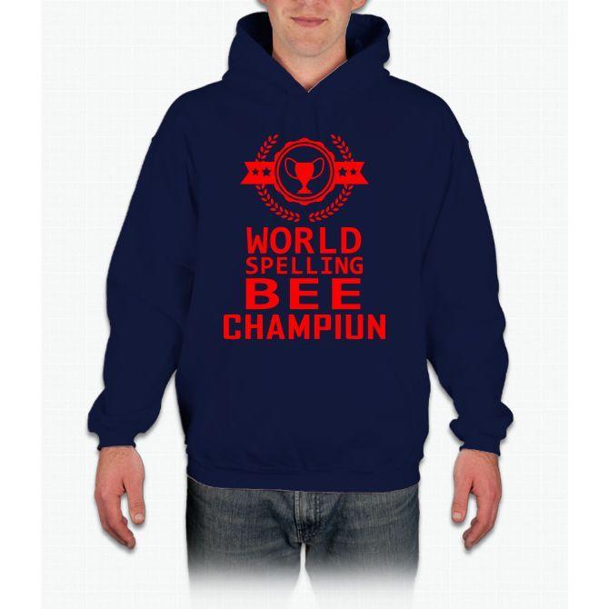 Spelling Bee Champiun Bee Movie Hoodie