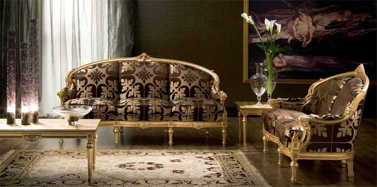 Furniture Victorian Style Living Room
