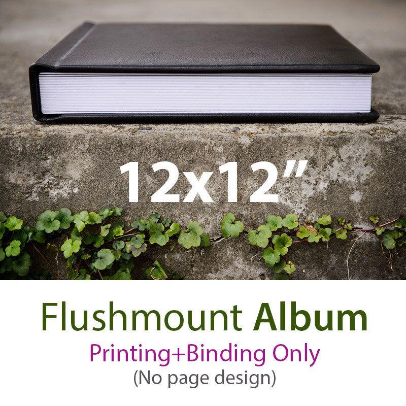 12x12 Flush Mount Album Wedding album Baby album Printing