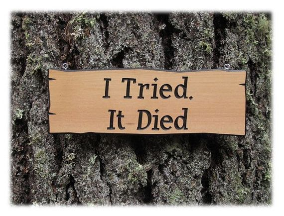 Best 25 Funny Garden Signs Ideas On Pinterest Garden