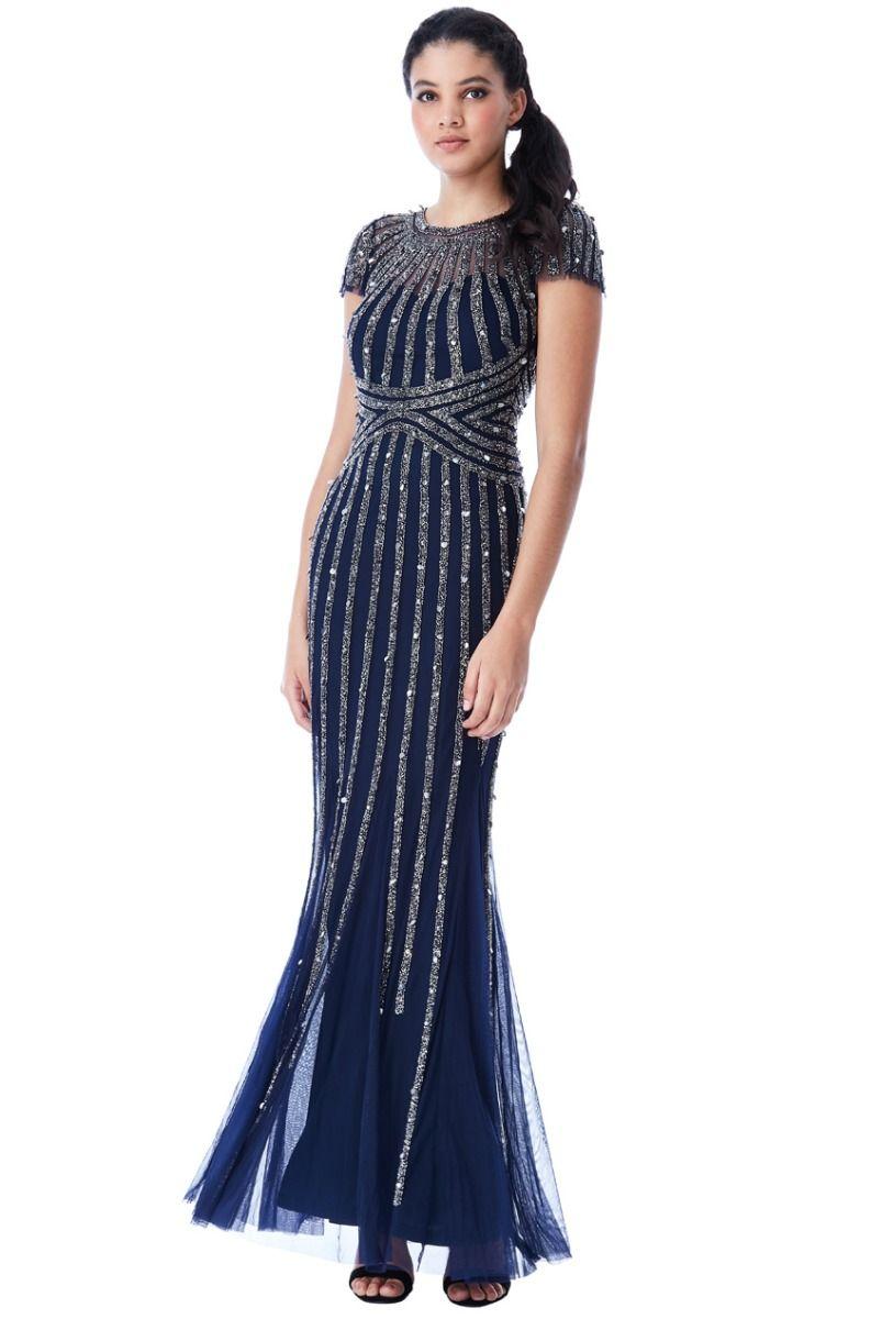 Sunray embellished maxi dress evening maxi dresses for weddings
