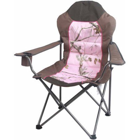 Ozark Trail X Realtree Xtra Deluxe High Back Padded Quad Folding Camp Chair