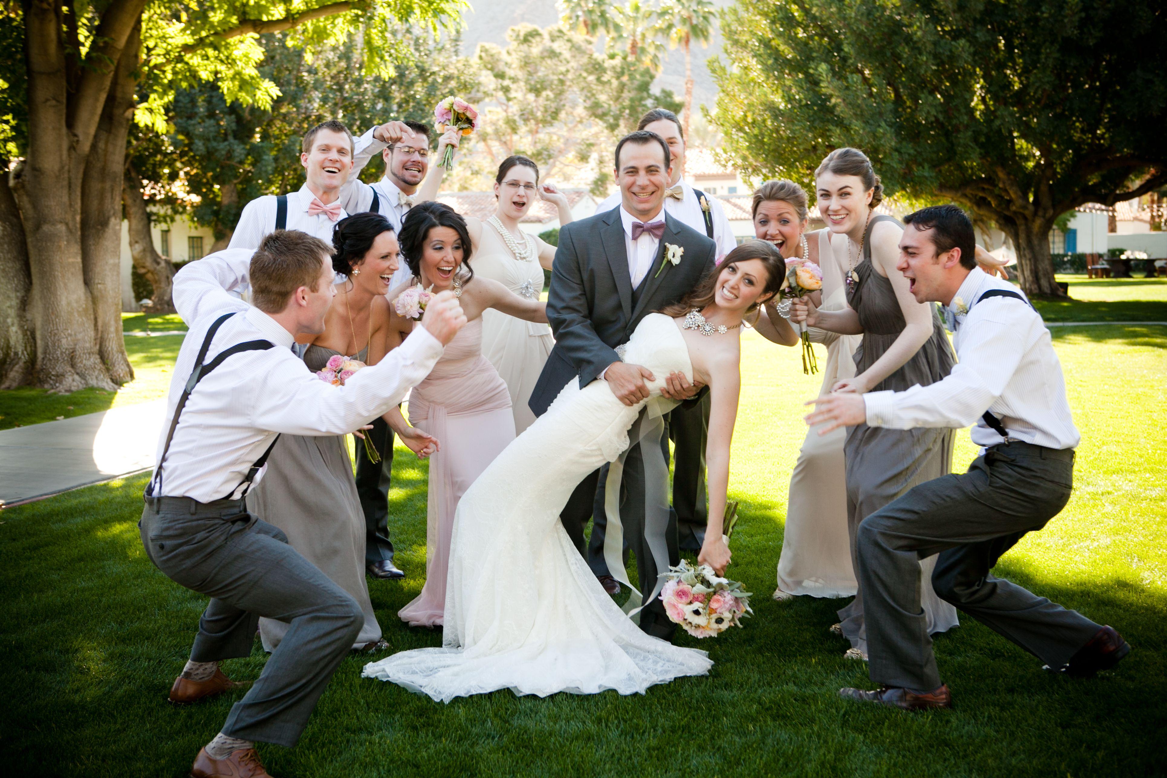 #DesertWedding #LaQuintaResort #ShabbyChic #Bridesmaids #Groomsmen #JCrew #VeraWang #Wedding #VintageStyle