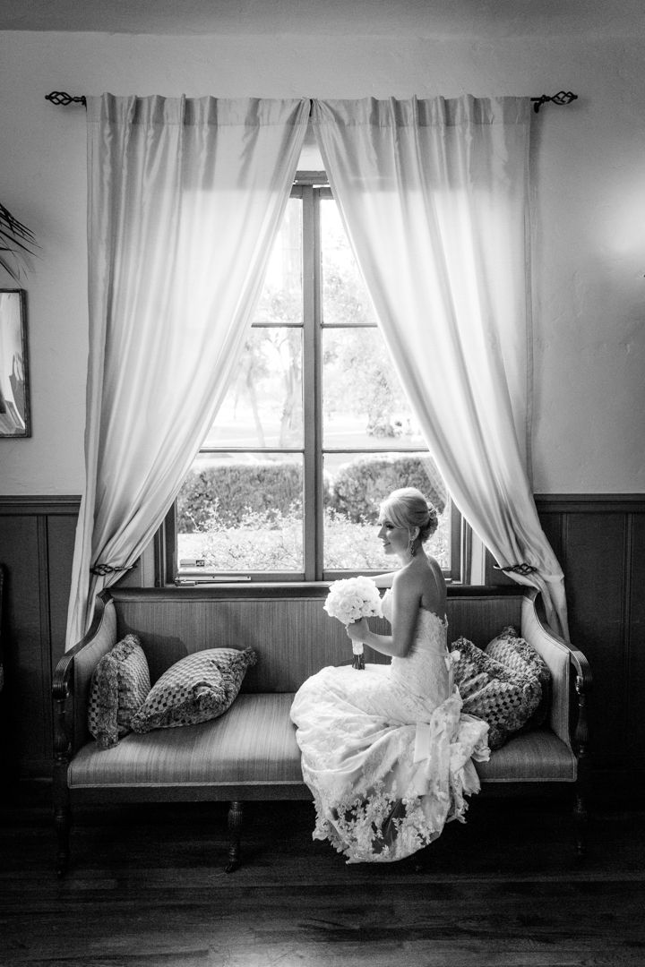 The Bridal Portrait with all its beauty and grace as the bride relaxes for a few moments just prior to the ceremony
