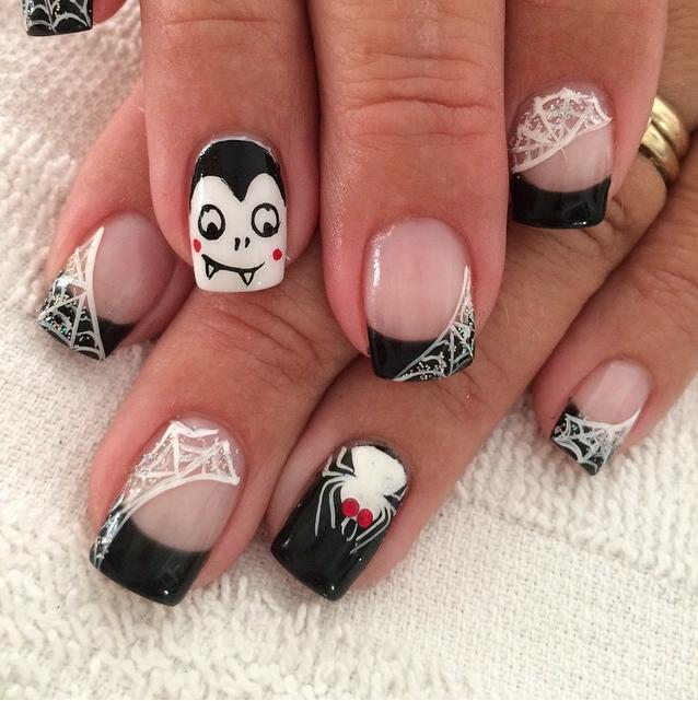 online+nail+art+magazine | 27 Halloween Nail Art IdeasHeadstyle ...