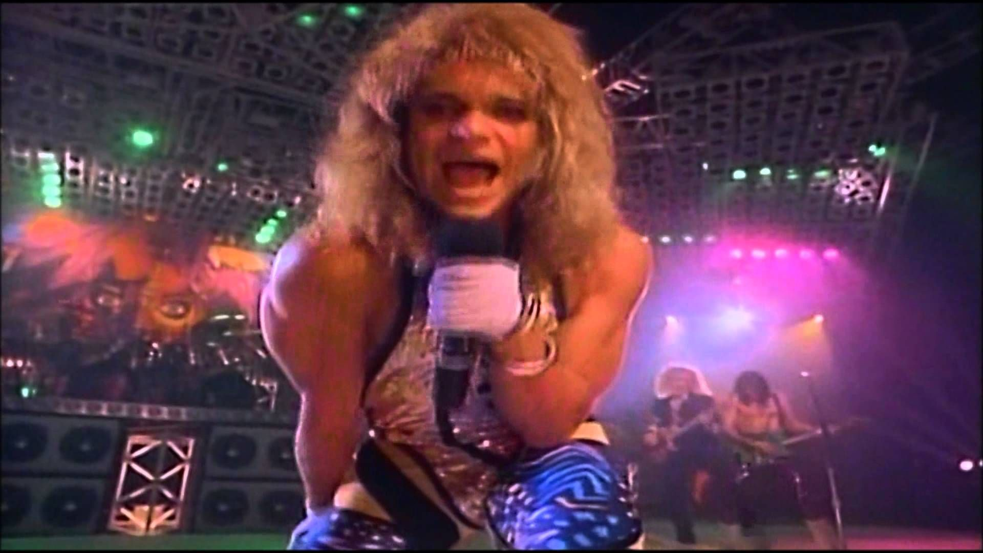 David Lee Roth Yankee Rose Full Version Hd Give Me A Bottle Of Anything And A Glazed Doughnut To Go David Lee Roth Musical Hair Van Halen