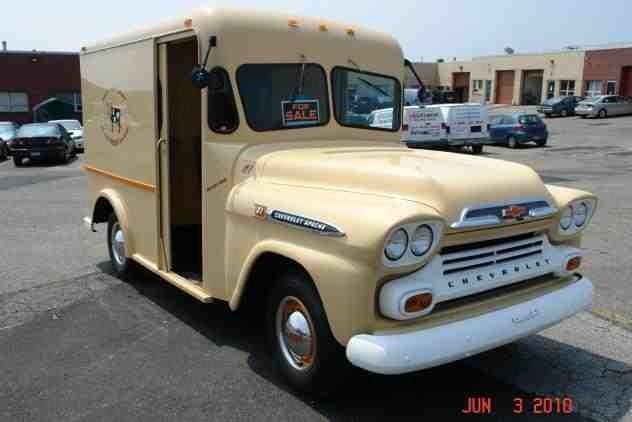 Milk Delivery Truck Chevy Apache Small Trucks Trucks For Sale