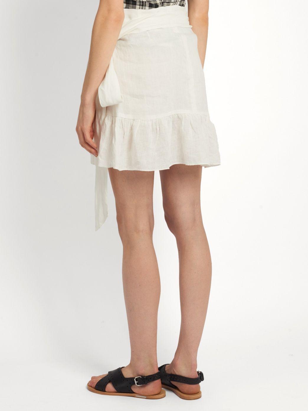 10f05e0f9 Click here to buy Isabel Marant Étoile Dempster ruffled mini skirt at  MATCHESFASHION.COM