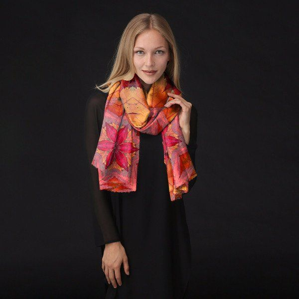 Modal Scarf - Wet Fall Leaves by VIDA VIDA cugYf