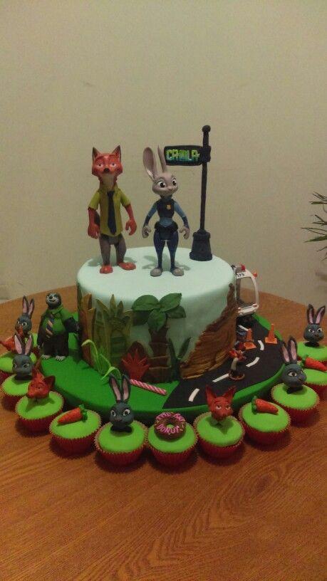 Torta Zootopia