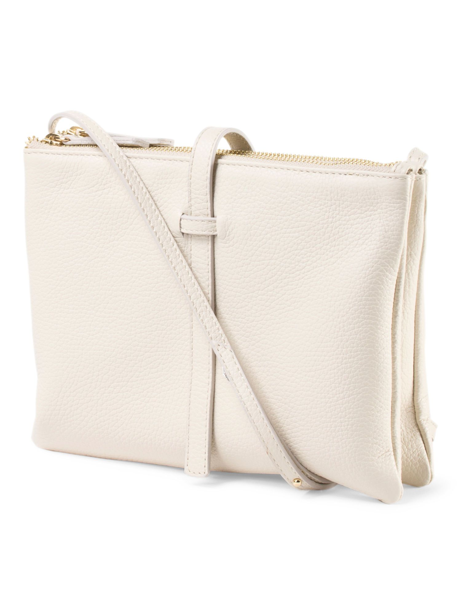 Vittoria Napoli Made In Italy Leather Two Compartment Crossbody Tj Ma 80