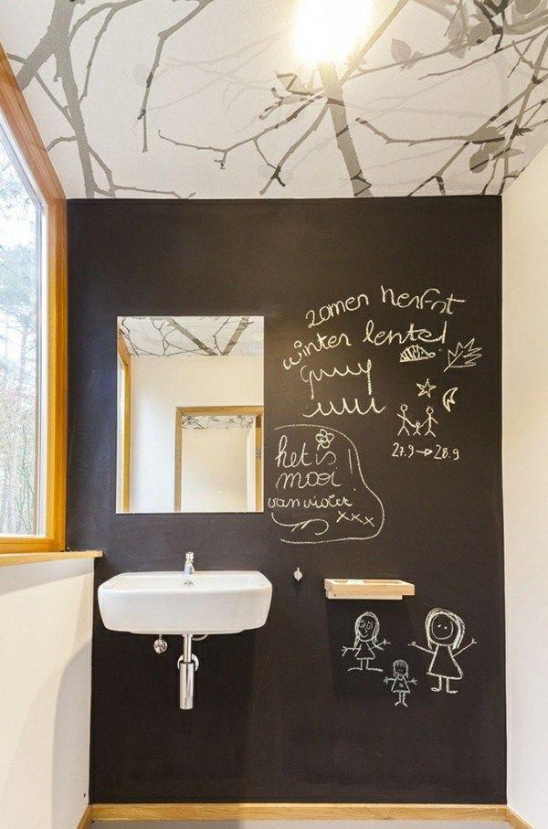 Bad Gestaltung badgestaltung ideen tafelfarbe schönes design einrichtung gäste