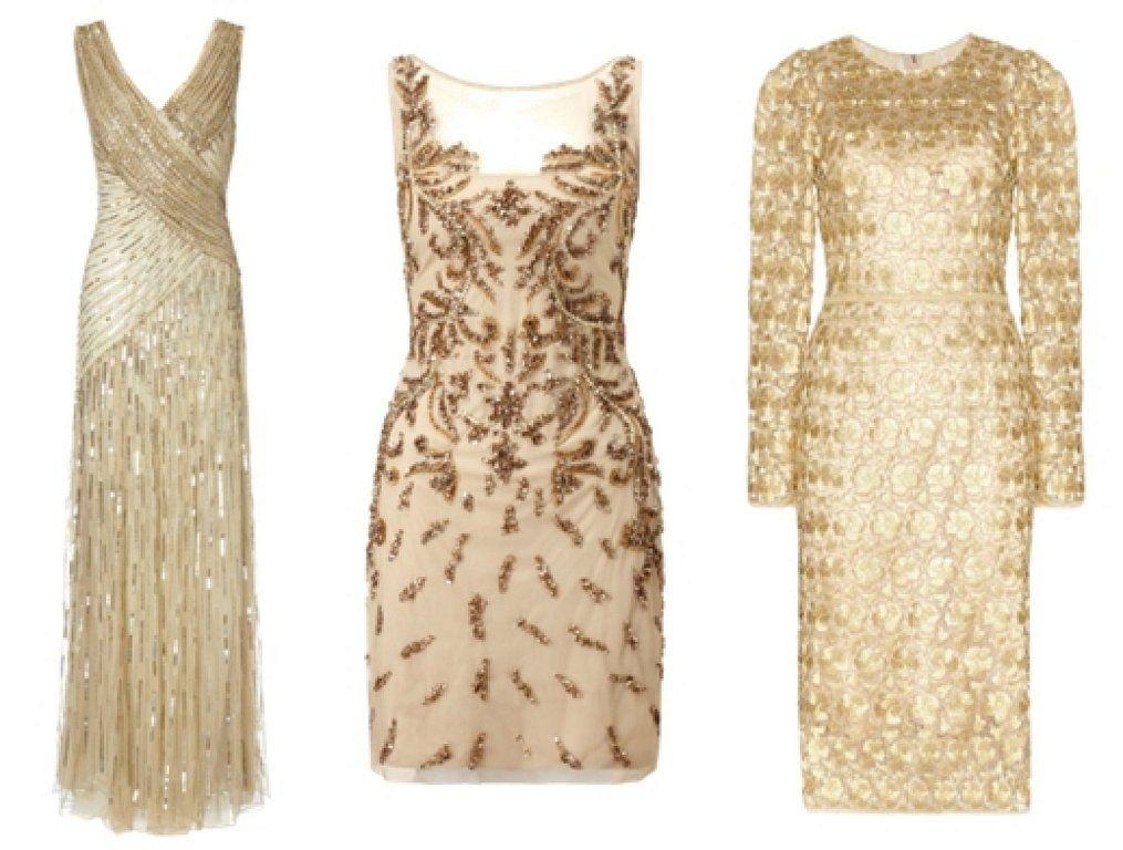 mejor lugar la mejor moda recoger Vestidos dorados para ir de boda: ¿Cómo combinarlo ...