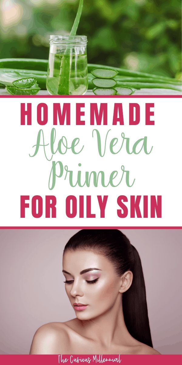 How To Make Your Own DIY Face Primer For Oily Skin