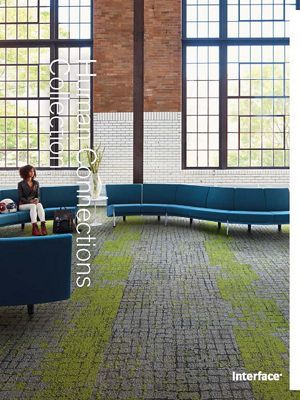 Interface Modular Carpet Moss In Stone Flint Edge Carpet Tiles