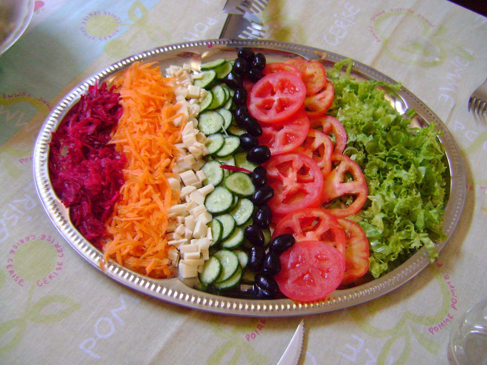 Ideias De Saladas ~ Receita de Salada Simples u2026 Pinteres u2026