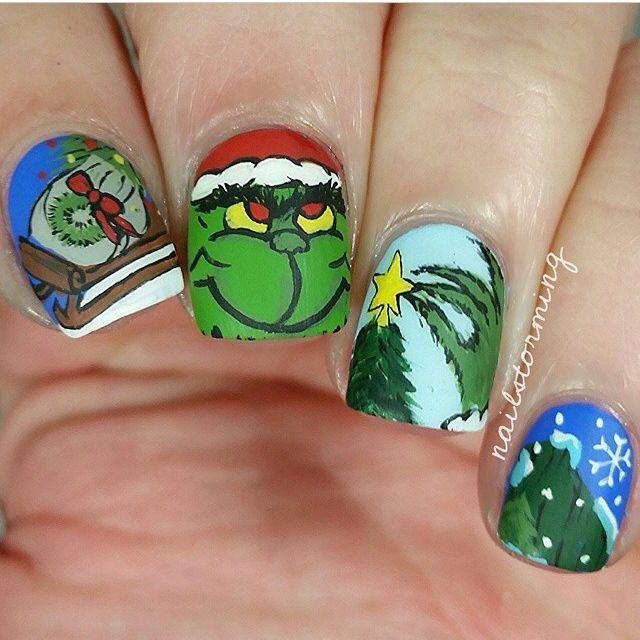 Atractivo Imagen Uñas De Navidad Con Clase Imagen - Ideas de Pintar ...