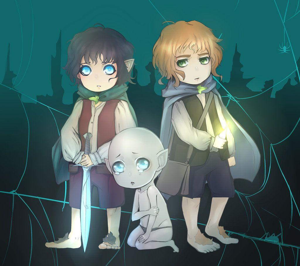frodo and sam friends forever anim233 pinterest