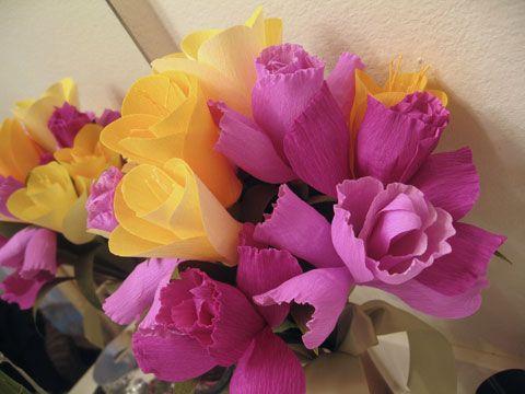 Martha stewart crepe paper flowers crafty pinterest crepe martha stewart crepe paper flowers mightylinksfo